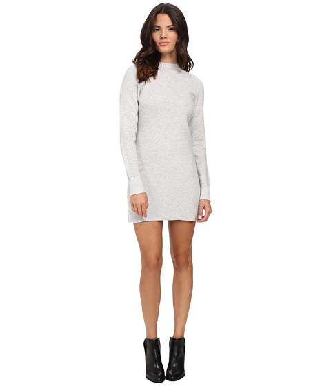 MINKPINK - Ultimate Knit Long Sleeve Dress (Grey) Women's Dress