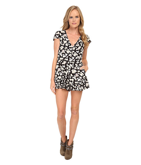 MINKPINK - Pretty Petals Playsuit (Multi) Women