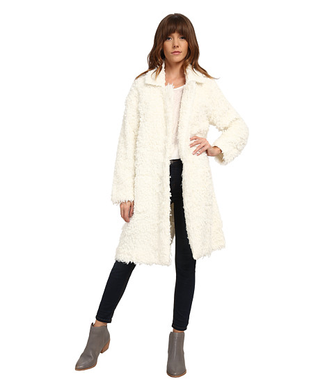 MINKPINK - Just Obsessed Coat (Honey) Women