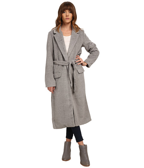 MINKPINK - Jealousy Duster Coat (Grey) Women