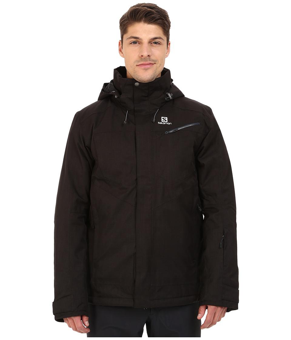 Salomon - Fantasy Jacket (Black 1) Men's Coat