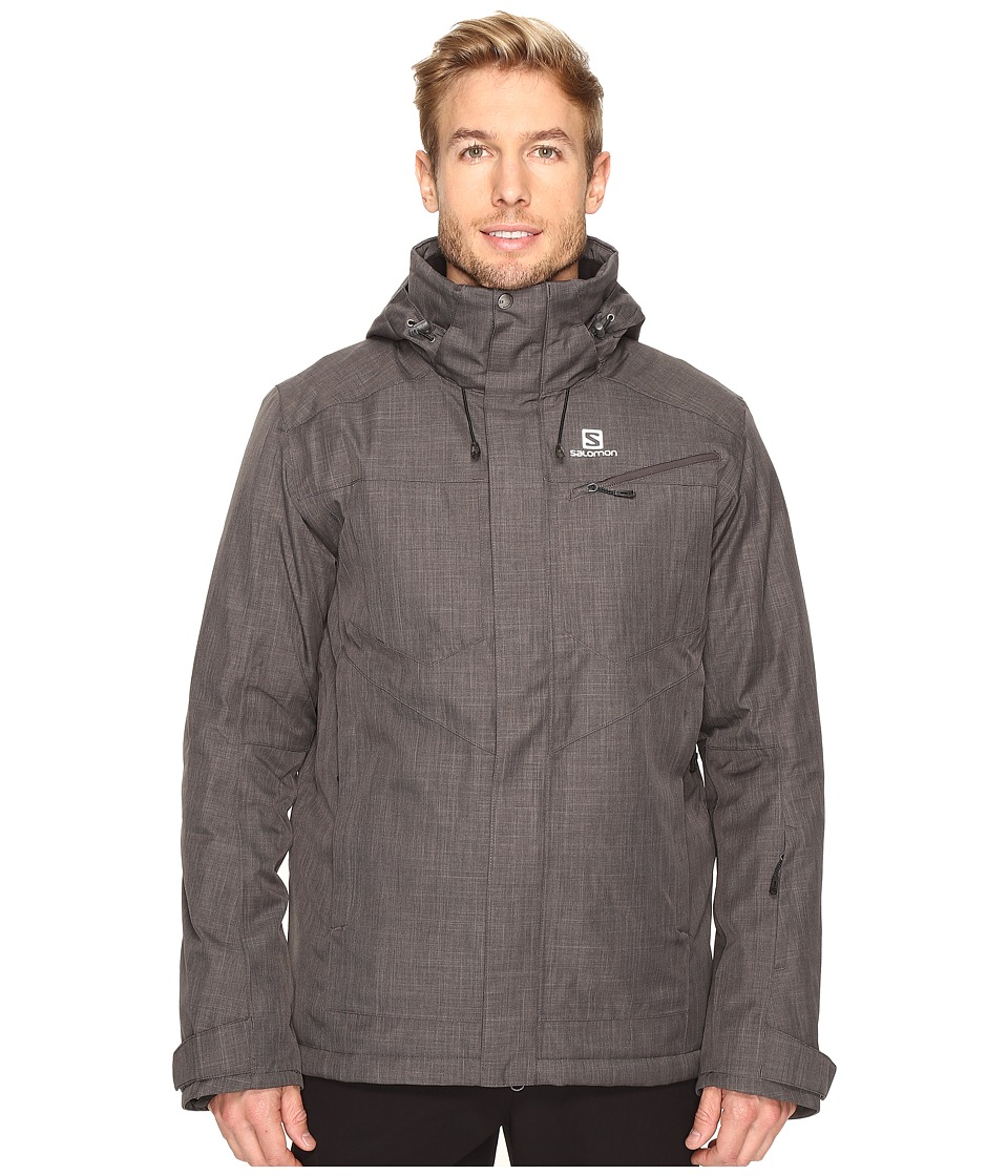 Salomon - Fantasy Jacket (Galet Grey) Men's Coat