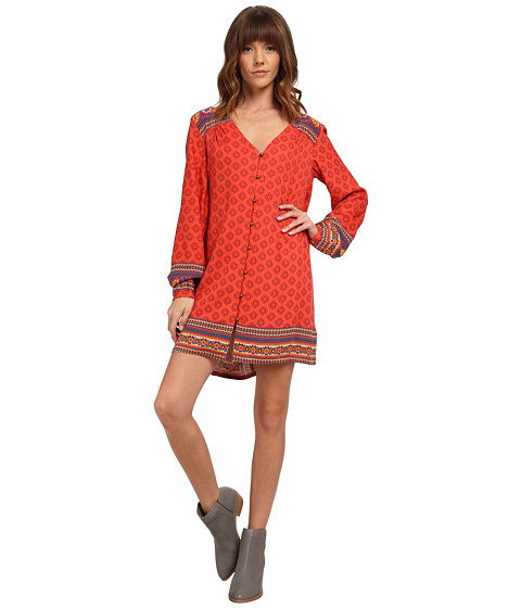 MINKPINK - Boho Queen Dress (Multi) Women