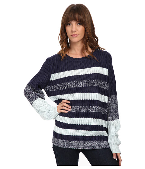 MINKPINK - Rule Breaker Stripe Jumper (Multi) Women's Sweater