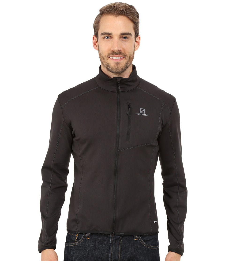 Salomon - Discovery Full Zip (Black) Men's Clothing