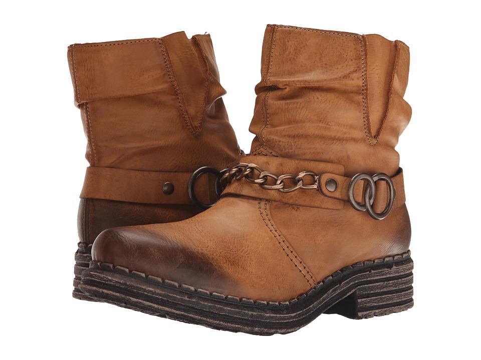 Rieker - Y9698 (Cayenne Eagle) Women's Dress Boots