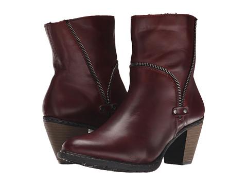 Rieker - Z1554 (Medoc Cristallino/Burgundy Bogota) Women's Dress Boots