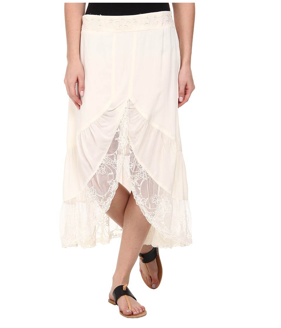 Dylan by True Grit - Wedding Skirt (Vintage Natural) Women's Skirt plus size,  plus size fashion plus size appare