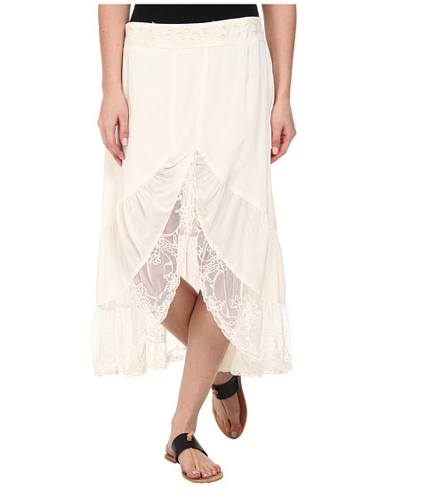 Dylan by True Grit - Wedding Skirt (Vintage Natural) Women's Skirt