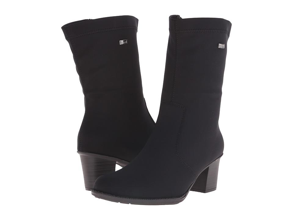 Rieker - Z7652 (Black Stretch) Women's Dress Boots