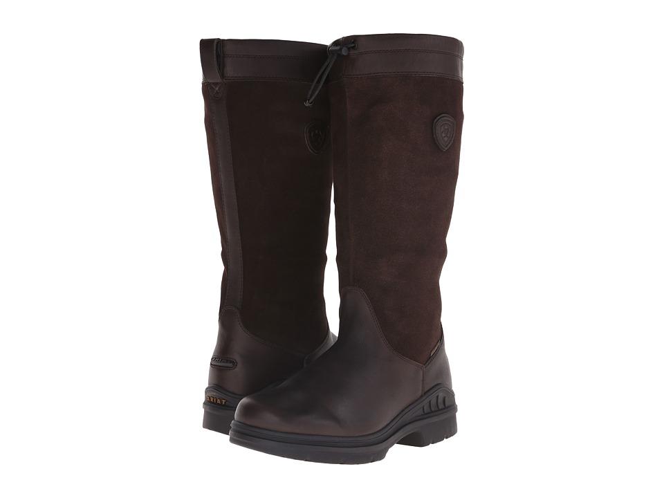 Ariat - Belle Tall H2O (Dark Brown) Women's Boots