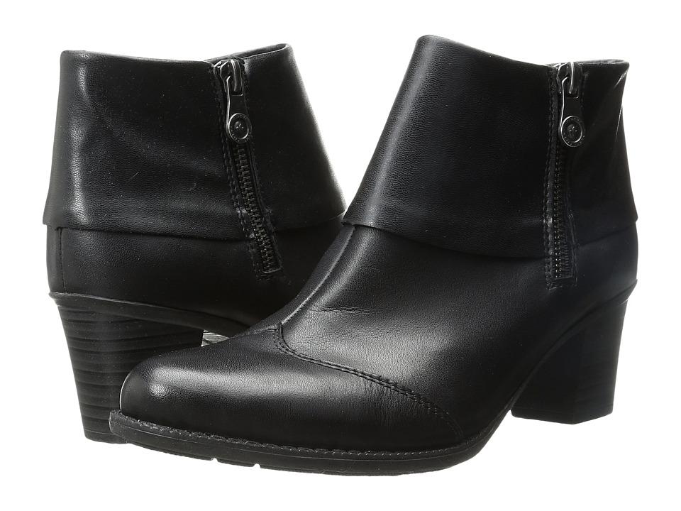 Rieker - Z7669 (Black Cristallino/Black Djerba) Women's Dress Boots