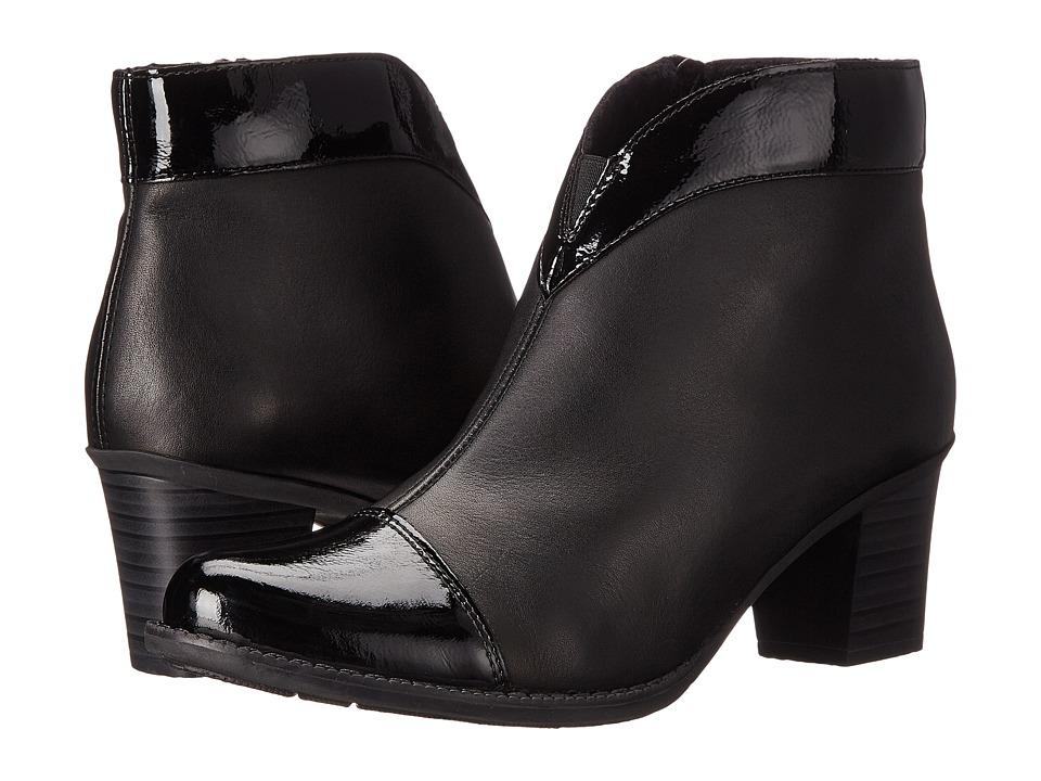 Rieker - Z7664 (Black Luxor/Black Cristallino) Women's Dress Boots