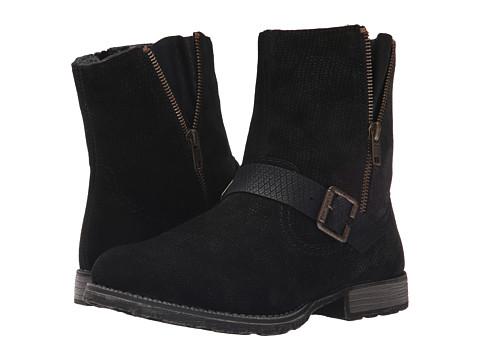 Rieker - Luana 63 Z9263 (Black Togo/Black Boccia) Women's Dress Boots