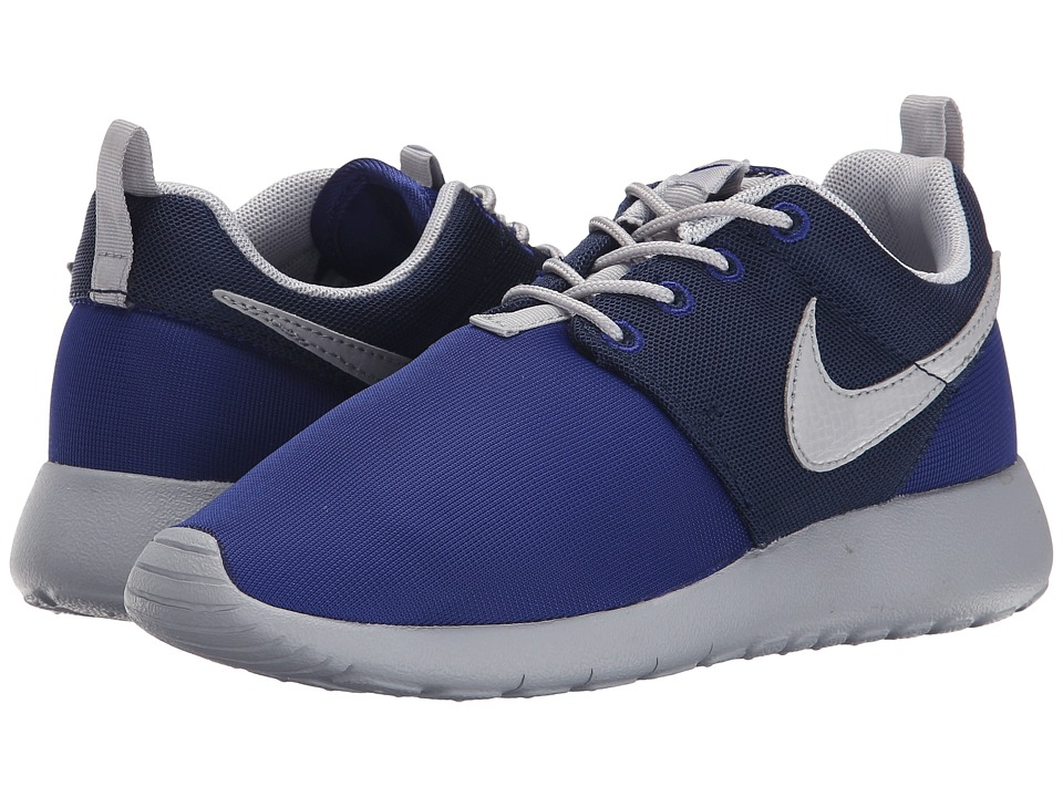 Nike Kids - Roshe One (Big Kid) (Deep Royal Blue/Midnight Navy/Wolf Grey) Boys Shoes