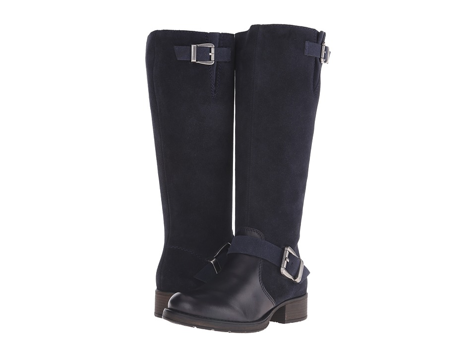 Rieker - Z9580 Liz Side Zip Boot (Lake Cristallino/Pazifik Samtcalf/Marine Virage) Women's Zip Boots
