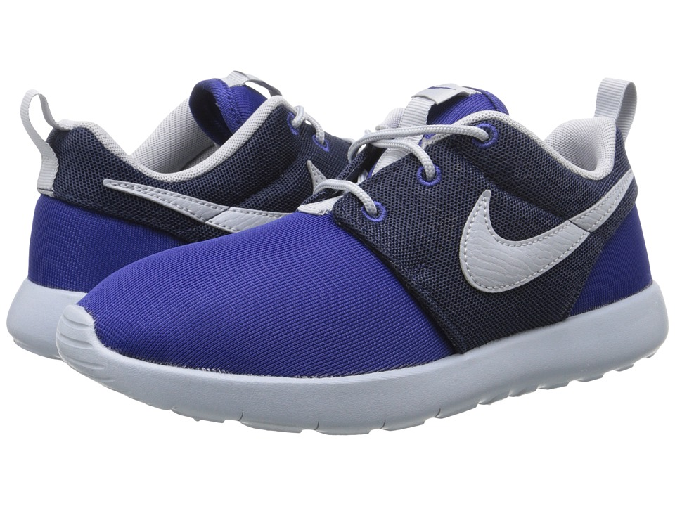 Nike Kids - Roshe One (Little Kid) (Deep Royal Blue/Midnight Navy/Wolf Grey) Boy's Shoes