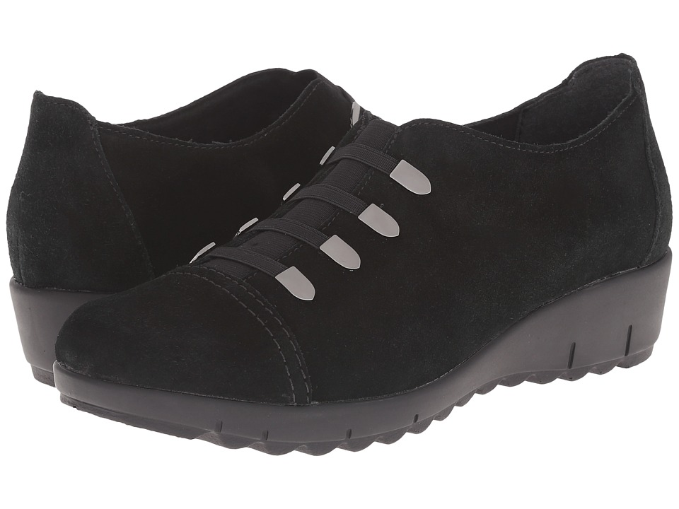 Rieker - D0201 (Black Samtcalf) Women's Shoes