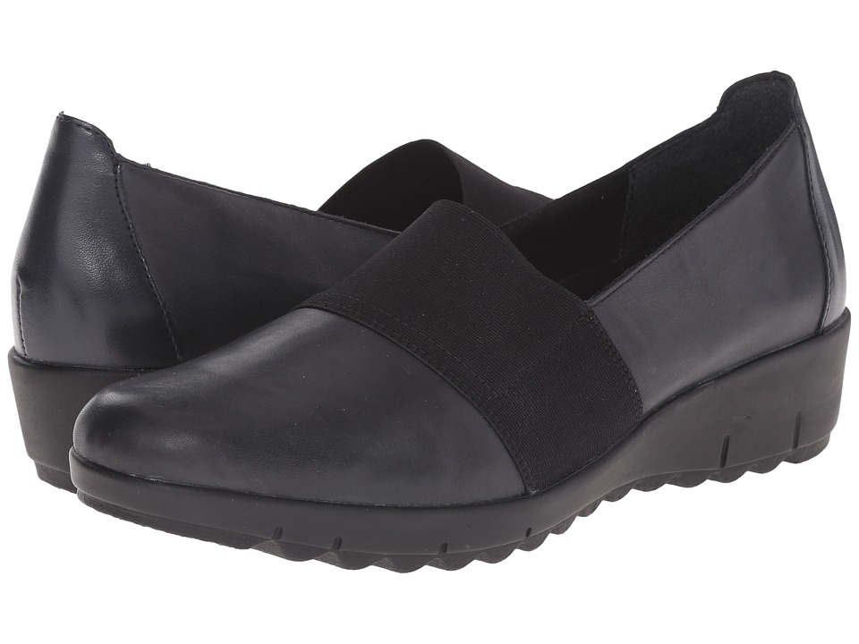 Rieker - D0200 (Lake Cristallino/Schwarz Elastique/Pazifik Bogota) Women's Shoes