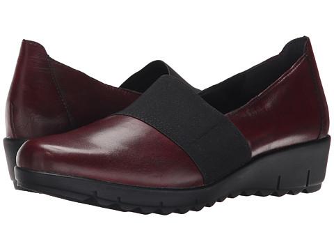 Rieker - D0200 (Chianti Cristallino/Schwarz Elastique) Women's Shoes