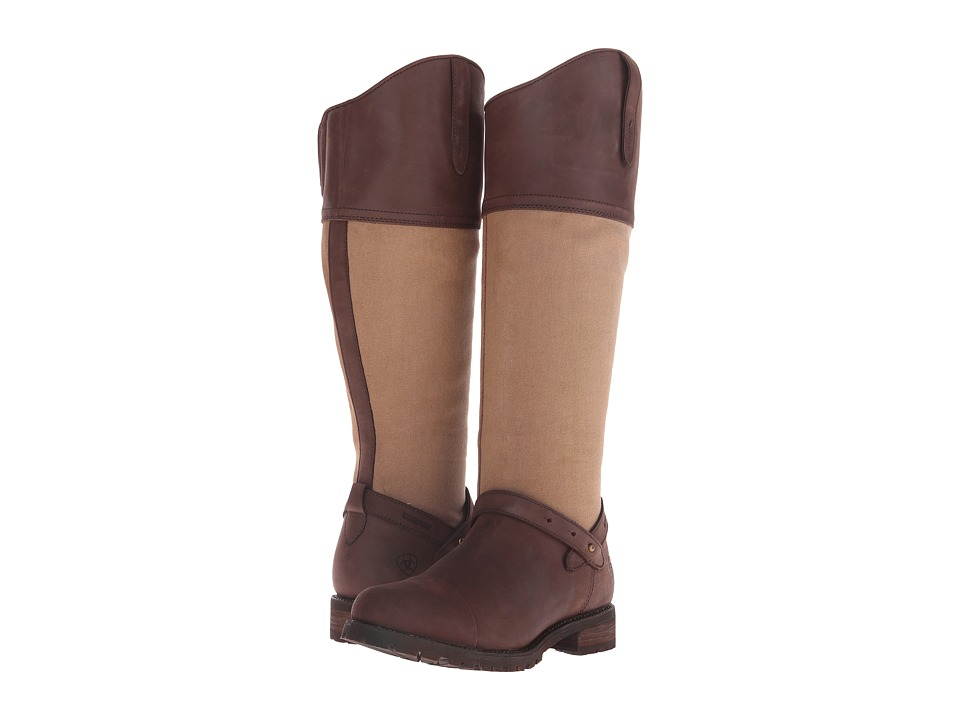Ariat - Sherborne H2O (Seal Brown) Women's Pull-on Boots