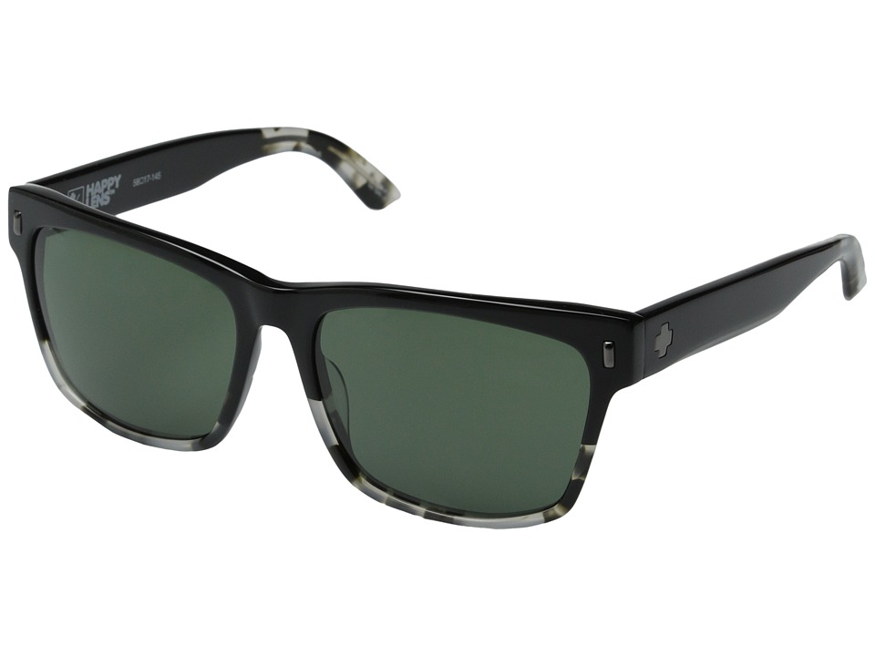 Spy Optic - Haight (SS Onyx/Happy Grey Green) Sport Sunglasses