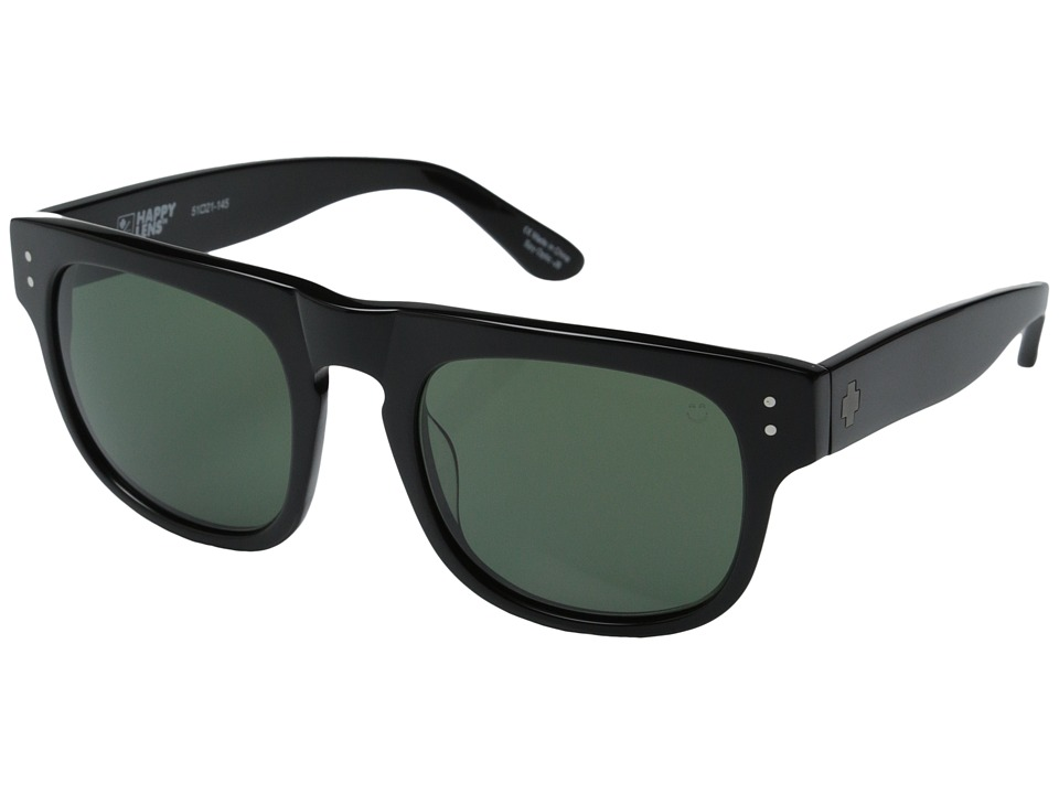 Spy Optic - Kensington (Black/Happy Grey Green) Sport Sunglasses