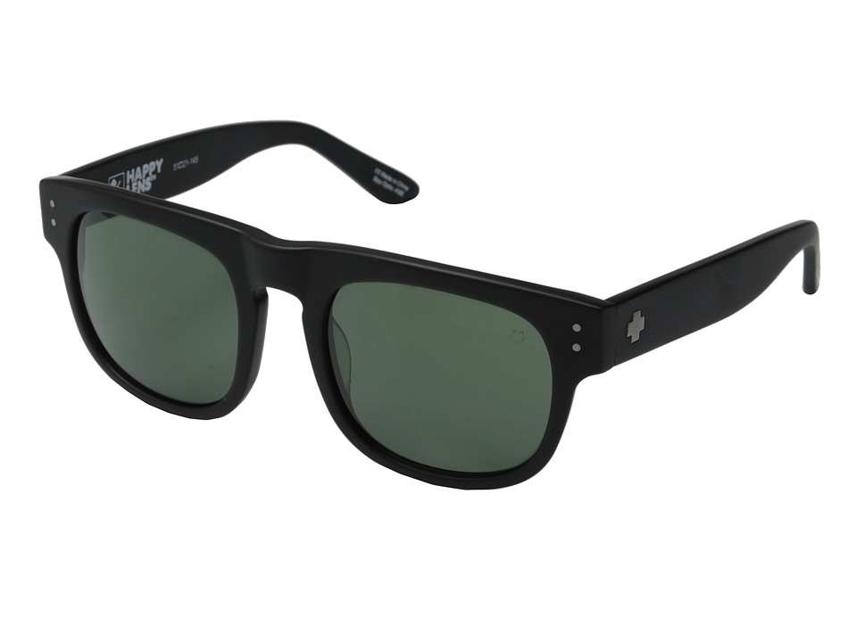 Spy Optic - Kensington (Matte Black/Happy Grey Green) Sport Sunglasses