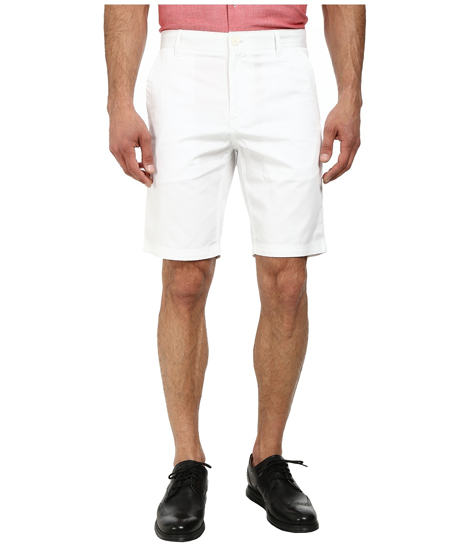 Calvin Klein - Bedford Cord Shorts (White) Men's Shorts
