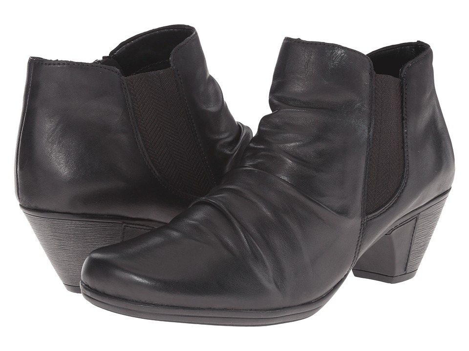 Rieker - D1294 (Black Cristallino) Women's Dress Boots