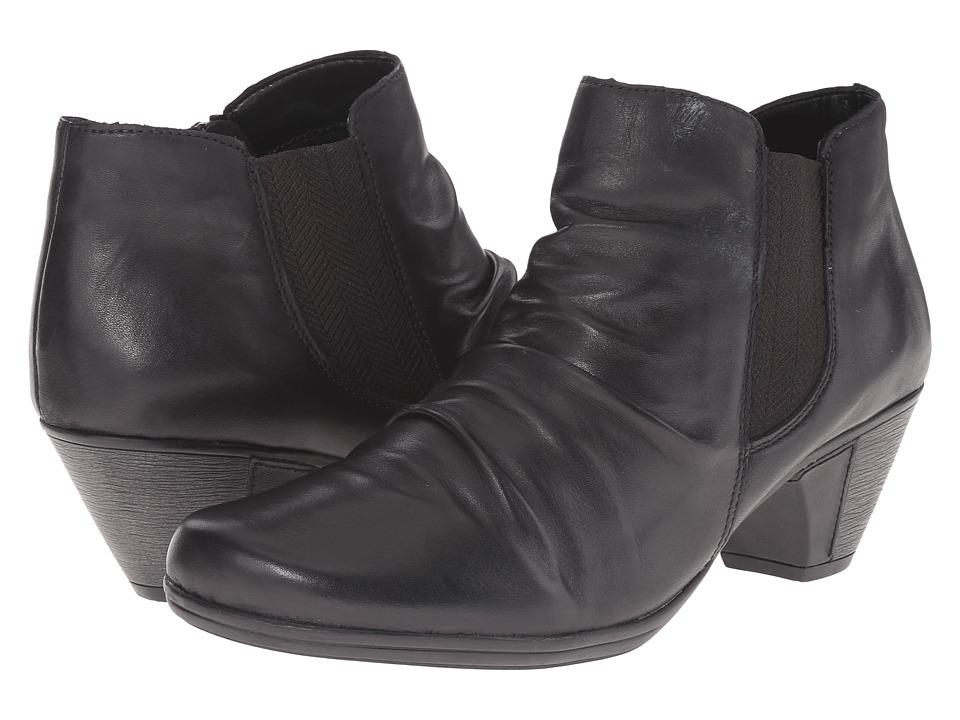 Rieker - D1294 (Black Cristallino) Women