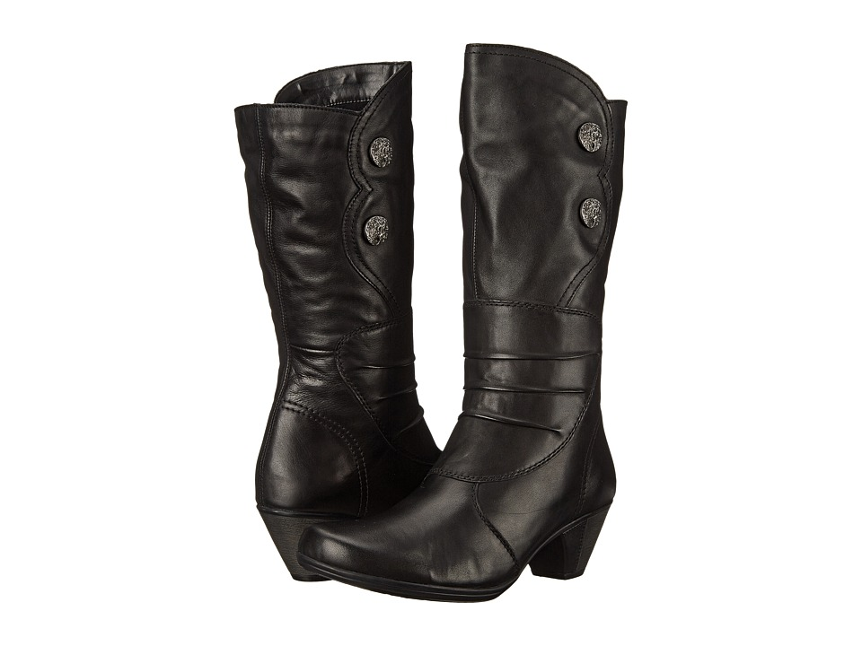 Rieker - D1295 (Black Cristallino) Women
