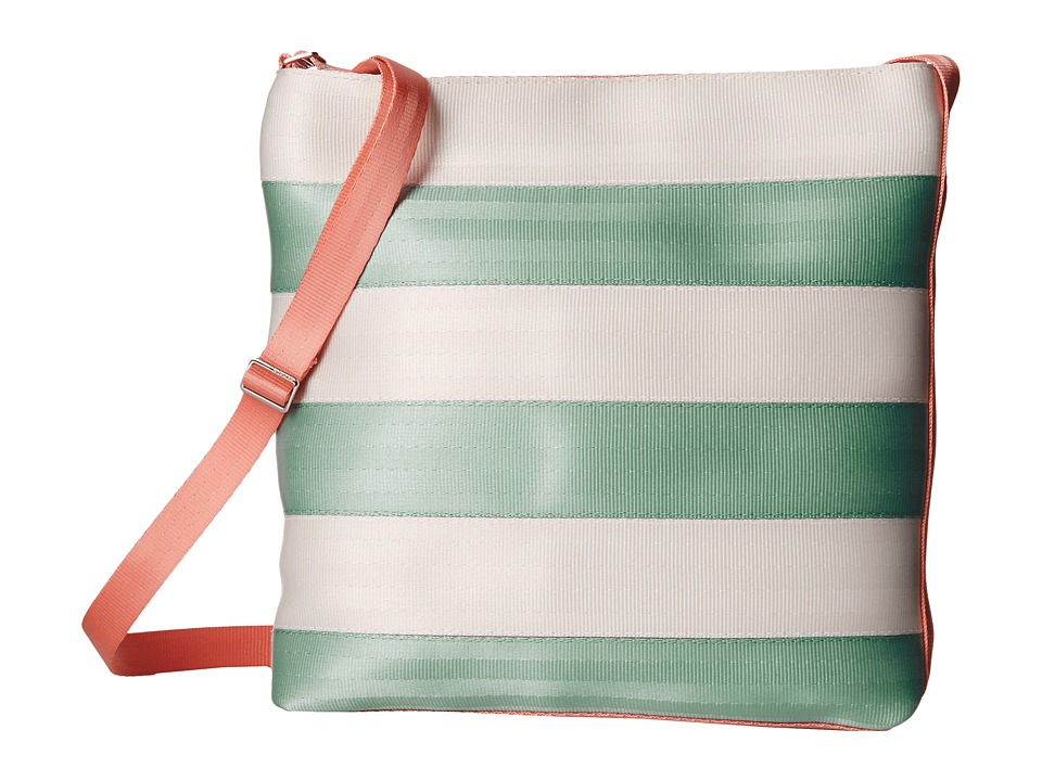 Harveys Seatbelt Bag - Streamline Crossbody (Mint/Peach) Cross Body Handbags