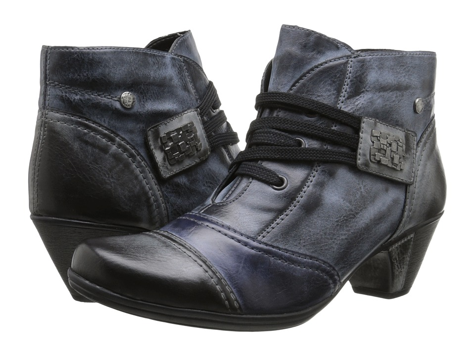 Rieker - D1297 (Asphalt Serbia/Jeans Serbia/Ozean Serbia) Women