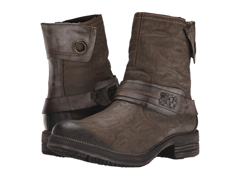 Rieker - D1771 (Mud Saba/Cigar Serbia) Women's Dress Boots