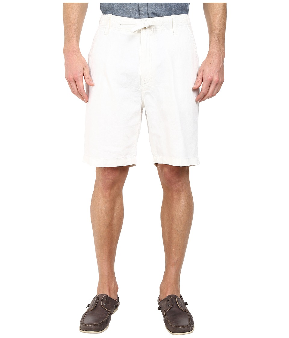 Nautica - Linen Drawstring Shorts (Bright White) Men's Shorts