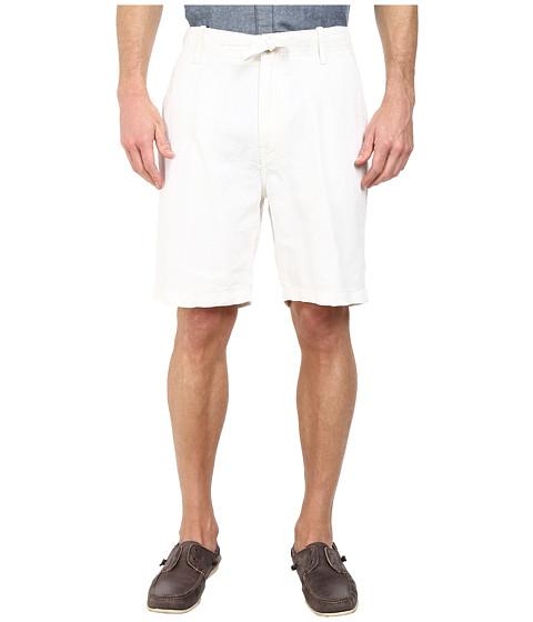 Nautica - Linen Drawstring Shorts (Bright White) Men