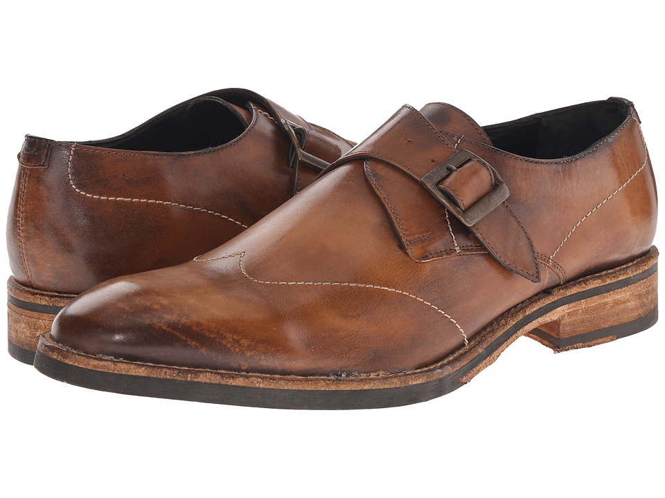 Messico - Alejandro (Mustard Vintage Leather) Men's Flat Shoes