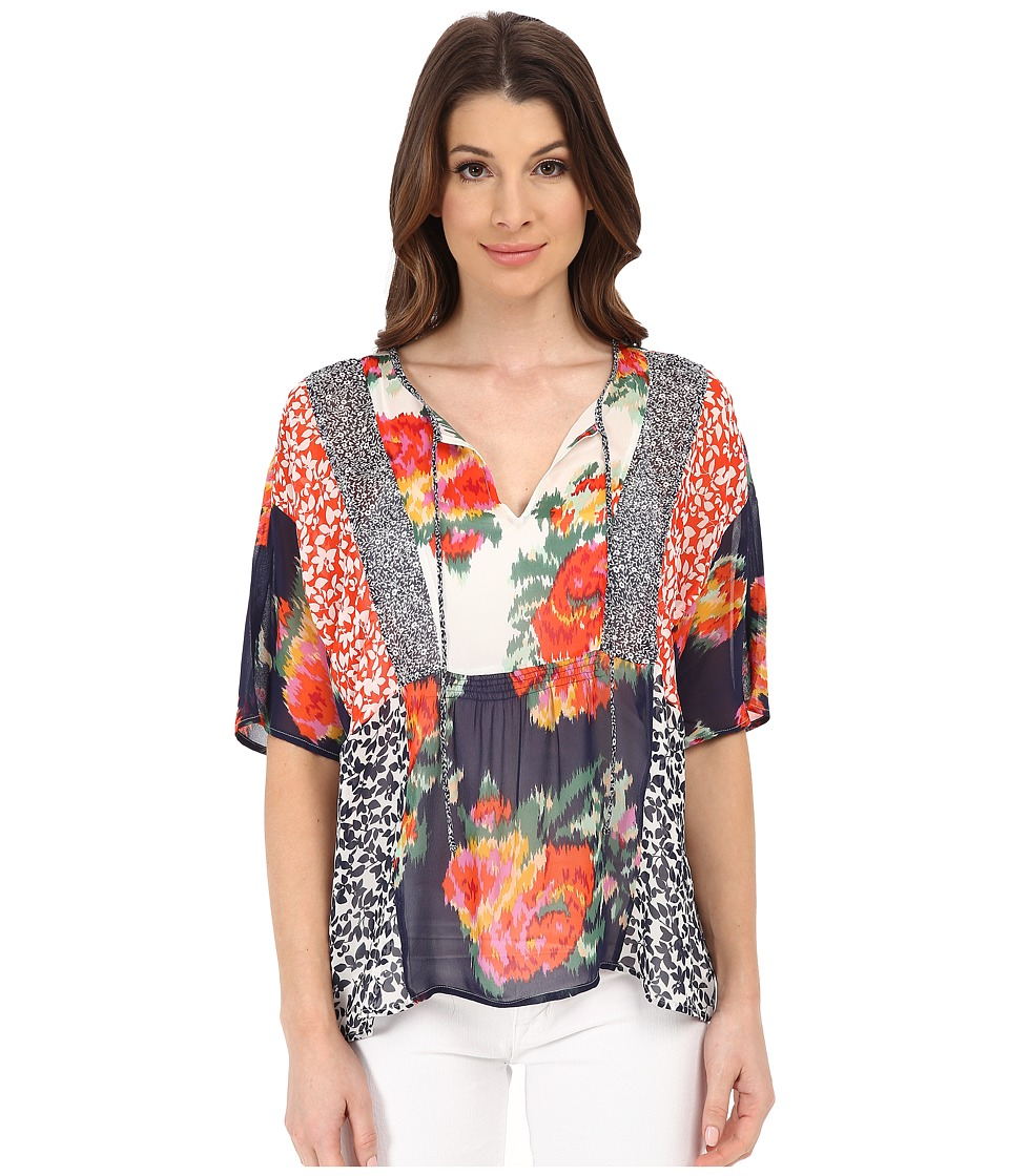Joie - Sian 3283-T2480 (Paradise Red) Women's Blouse