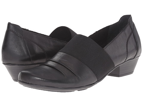 Rieker - D7349 (Black Cristallino/Black Elastique/Black Fino) Women's Shoes
