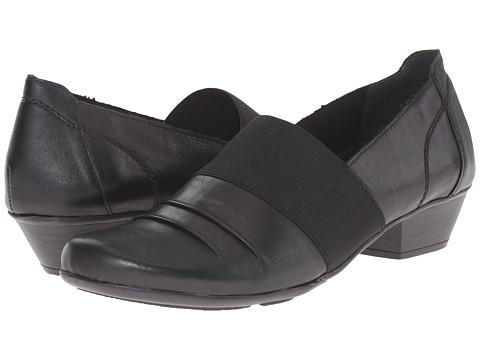 Rieker - D7349 (Black Cristallino/Black Elastique/Black Fino) Women's Shoes