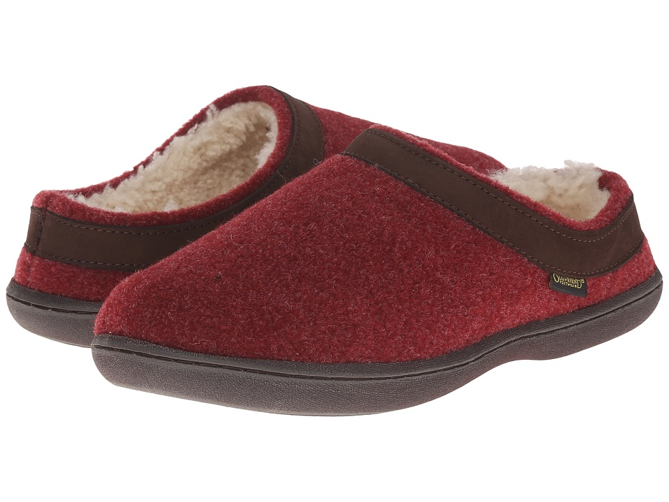 Old Friend - Curly (Burgundy) Women's Slippers