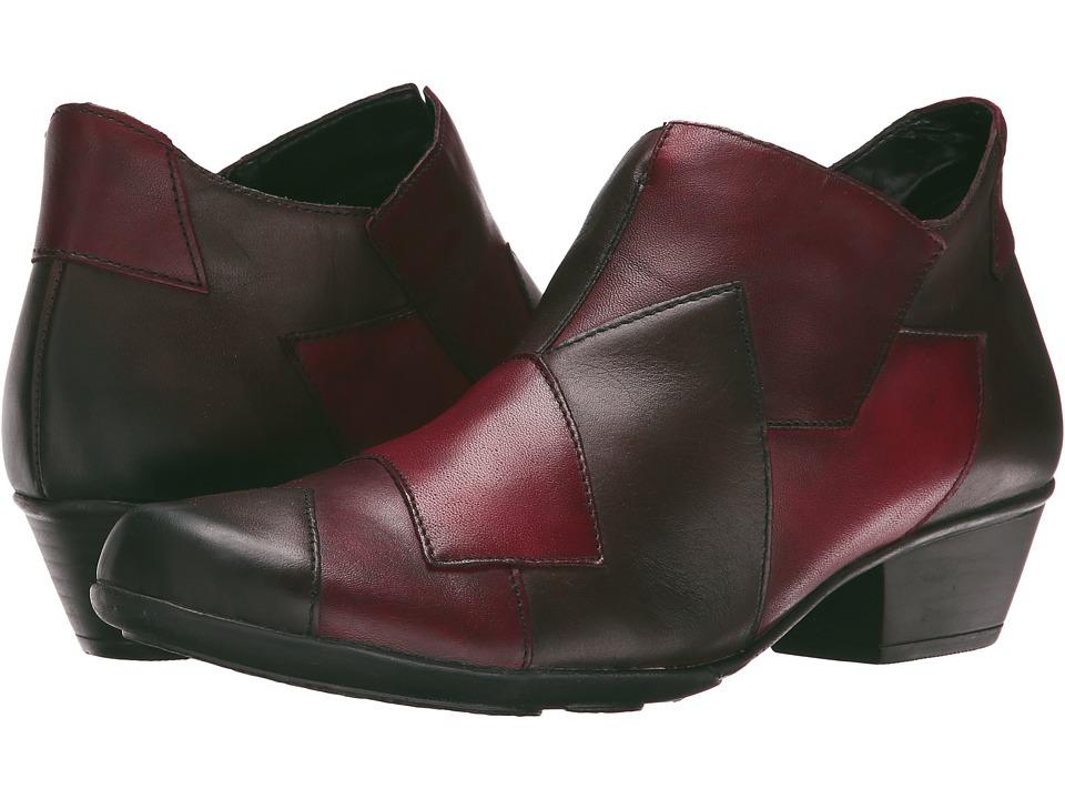 Rieker - D7386 (Teak Cristallino/Chianti Cristallino/Rosso Cristallino) Women's Shoes