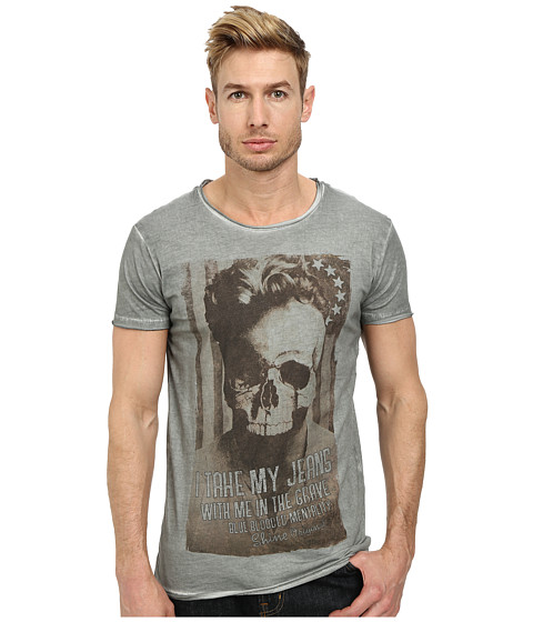 Lindbergh - Dirty Rock and Lust Tee Short Sleeve (White A) Men