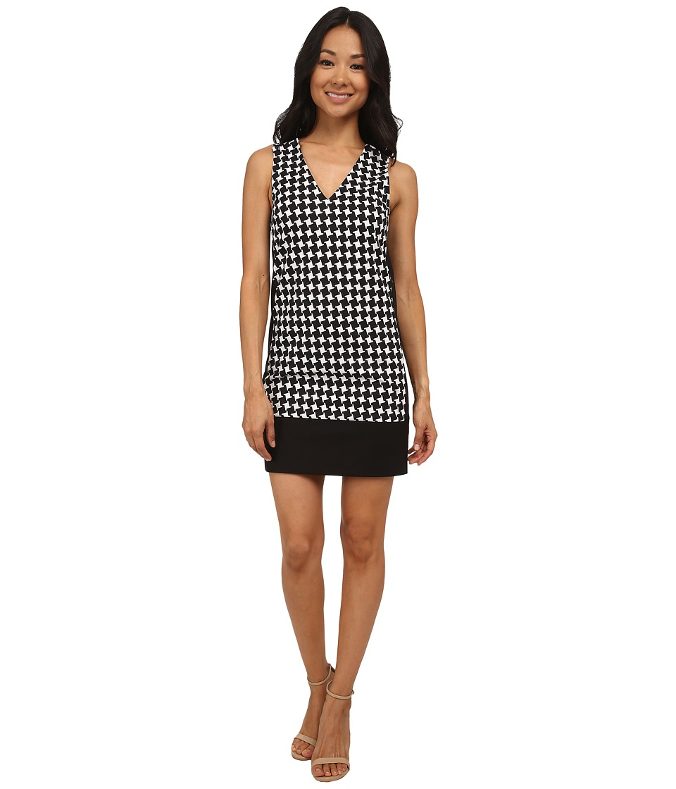 MICHAEL Michael Kors Petite Sutter Sleeveless Shift Dress (Black) Women