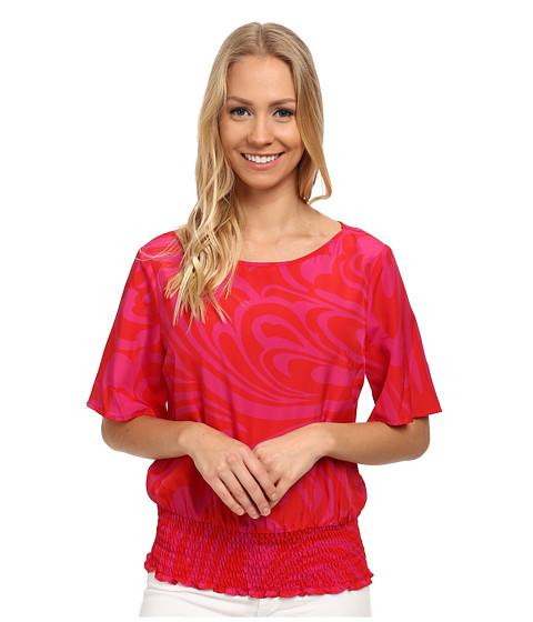 MICHAEL Michael Kors - Cynthia Paisley Kimono (Radiant Pink) Women's Clothing