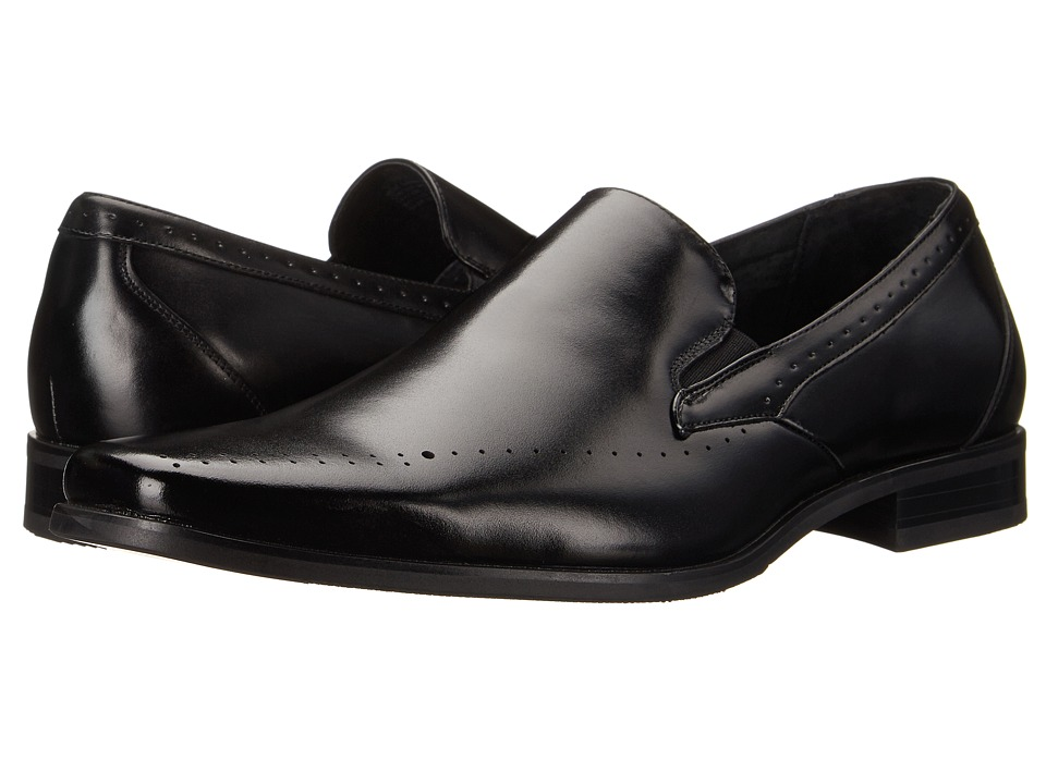 Stacy Adams - Arledge (Black) Men's Plain Toe Shoes