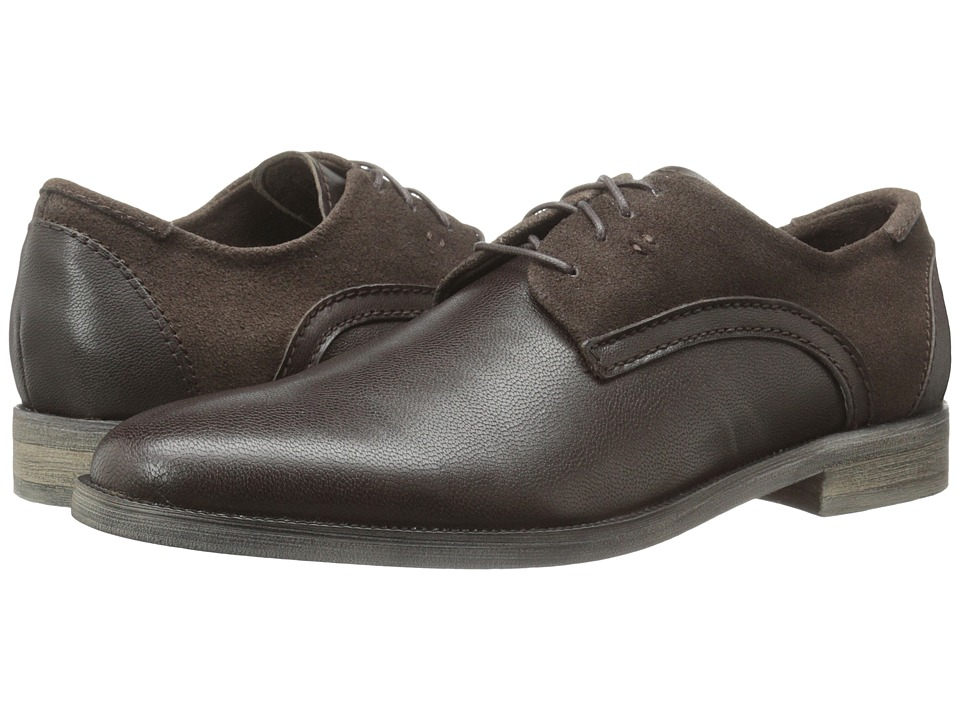 Stacy Adams - Barstow (Brown) Men's Plain Toe Shoes