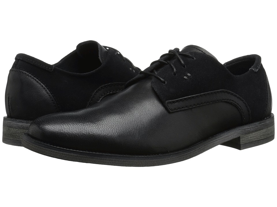 Stacy Adams - Barstow (Black) Men's Plain Toe Shoes