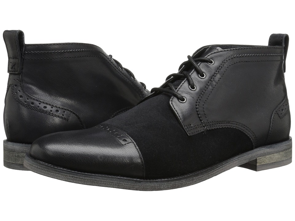 Stacy Adams - Beckett (Black) Men's Lace-up Boots